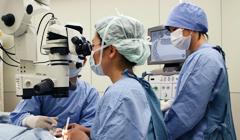 専門医の豊富な経験に基づく白内障手術